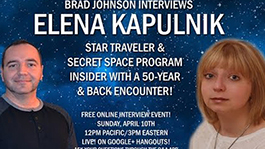 Elena Kapulnik - Secret Space Program Insider